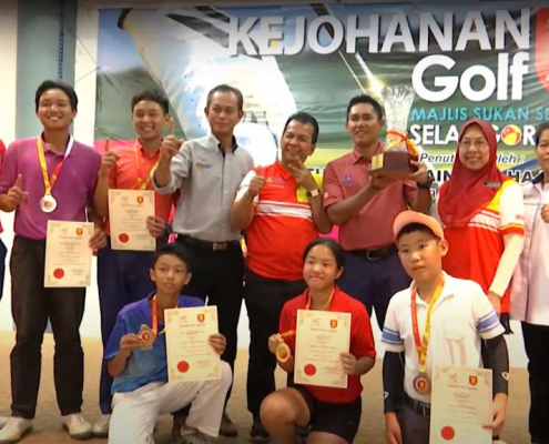 Kejohanan Golf MSS Selangor 2020