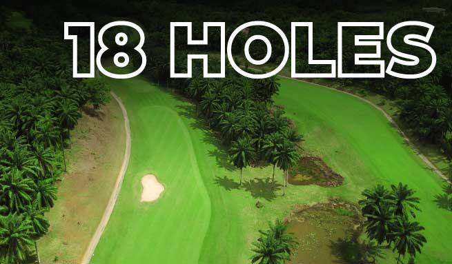 18 Holes Golf Course