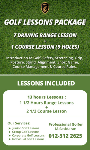 BBGC Golf Lessons Package